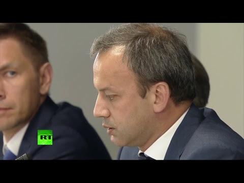 Владимир Путин проводит заседание по итогам ЧМ-2018