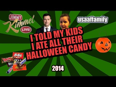 Hey Jimmy Kimmel - I Told My Kids I Ate All Their Halloween Candy
