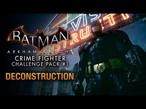 Batman: Arkham Knight - Crime Fighter Challenge Pack #1 - Predator: Deconstruction