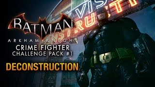 Batman: Arkham Knight - Crime Fighter Challenge Pack #1 - Predator: Deconstruction