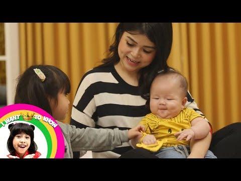 Kecil Kecil, Ternyata Baby Moonela Jago Bahasa Inggris   - I Want To Know  (7/1)