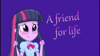 Equestria Girls - A friend for life HD + Download