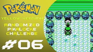 LIVE: 06   Pokémon: Yellow   Randomized Pikalocke Challenge