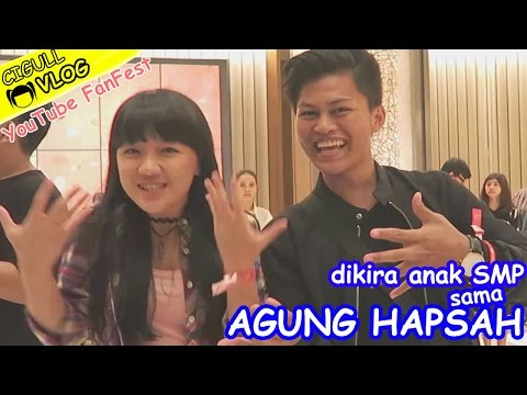 Dikira Anak SMP sama Agung Hapsah? Youtube FanFest 2016