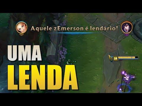 FIQUEI LENDÁRIO MESMO? - League of Legends