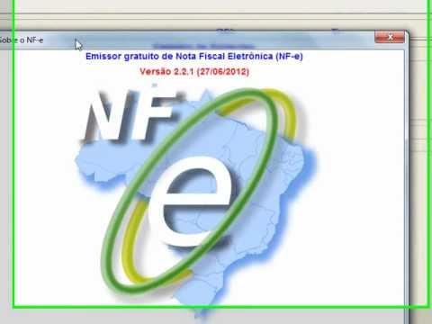 Emissor Gratuito NFe: Instalando a nova versão (2.2.1) que corrige vários erros.