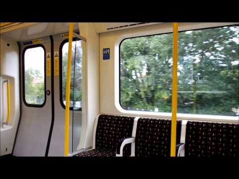 The journey from Preston Road to Harrow-on-the-Hill on the Metropolitan line as seen from S Stock unit 21022 on Wednesday 31st August 2011. Northwick Park - ...