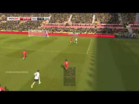 GERMANY vs GHANA - PES2014 PC GAMEPLAY