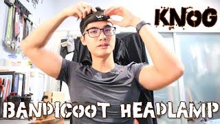 Review: Knog Bandicoot Headlamp | Kickstarter