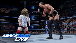Big Cass plays mind games with Daniel Bryan: SmackDown LIVE, May 1, 2018