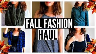 2015 Fall Fashion Trends Haul & Try On Clothing Haul