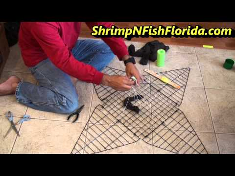 How To Rig Your Portable Crab Trap With Bait