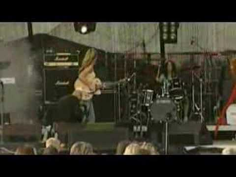 Jimi Hendrix - Hey Joe!! Girls Playing! Amazing Guitar Solo! video