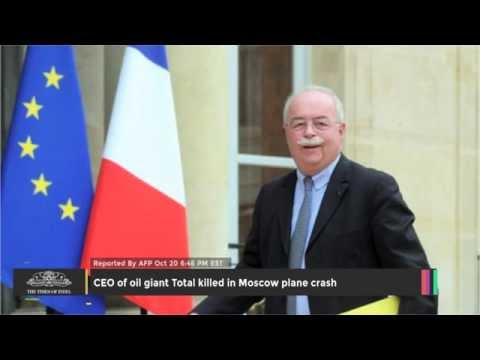 CEO Of Oil Giant Total Killed In Moscow Plane Crash - TOI