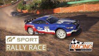 Gran Turismo Sport E3 2017 Media Race - Mustang Rally at Sardegna