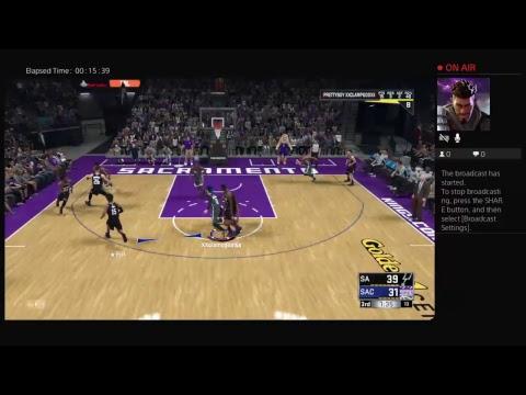 2k18 Mycareer E1 New team game 1