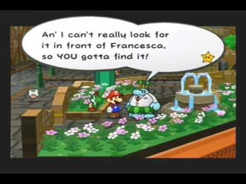 Paper Mario The Thousand Year Door Frankie S Ring