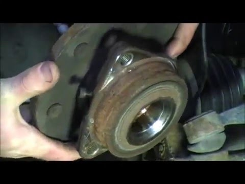 How To Remove A Wheel Bearing And Hub In Under 1 Min!