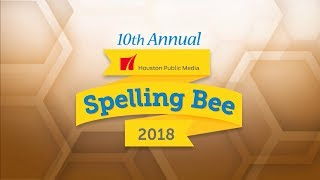 2018 Houston Public Media Spelling Bee