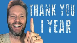 One year anniversary - THANK YOU - Good Talk about life