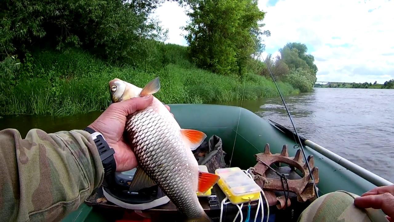 Начало рыбной ловли на реке ока в нижнем новгороде