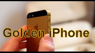 PAINTING AN IPHONE GOLDEN!