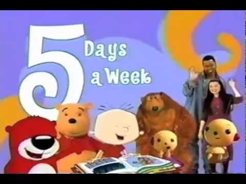 Playhouse Disney Promo 5 Days A Week 2003 Video