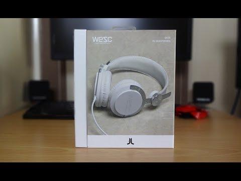 Wesc DJ headphones unboxing & quick look