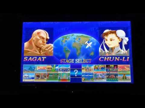 中野サガットとさっきーの今夜もウル2 Ultra Street Fighter 2