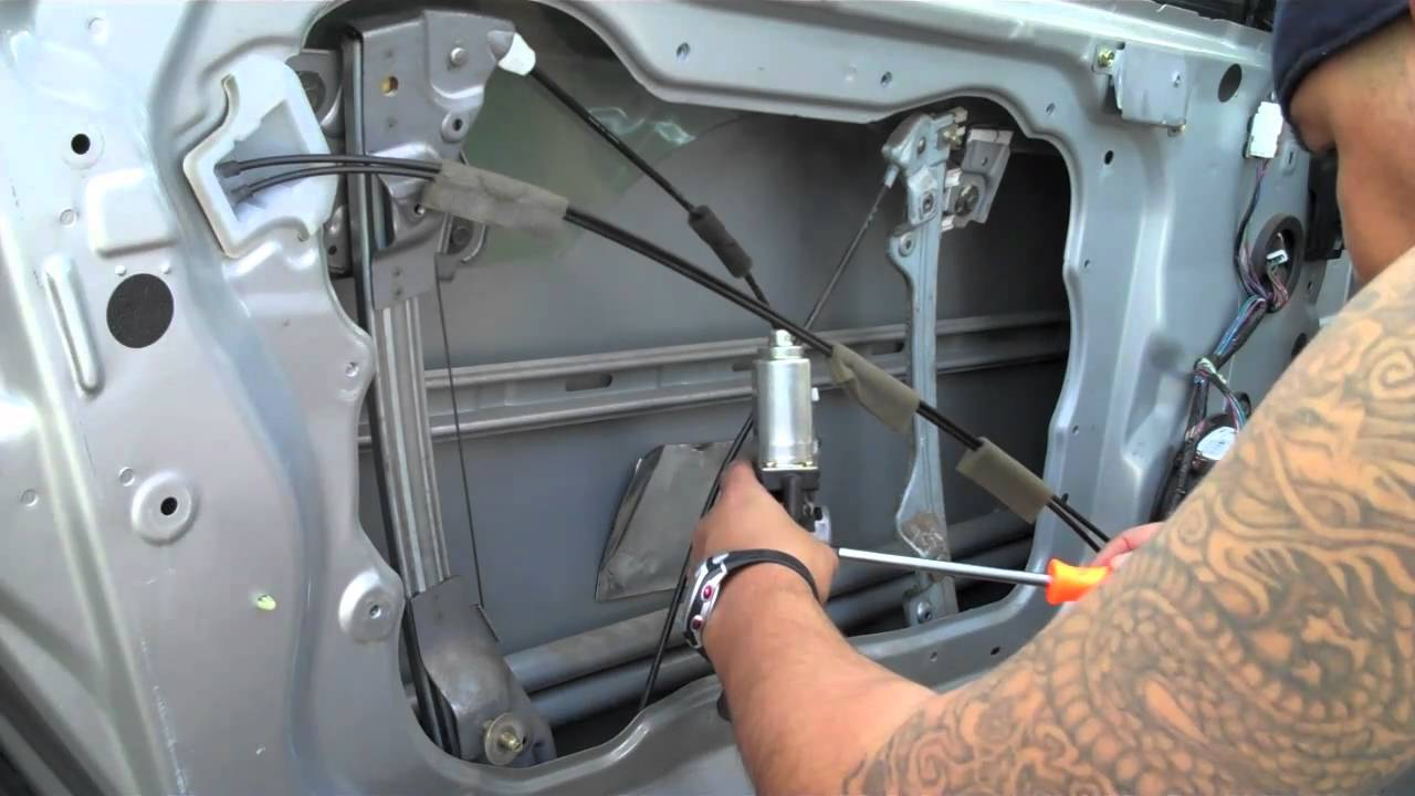 Diy Replace Infiniti G35 Coupe Window Motor Part 2 Youtube