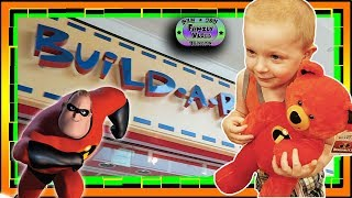 We Build the Incredibles 2  Build-A-Bear