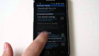 How To Run Tegra 2 Games on Samsung Galaxy SII