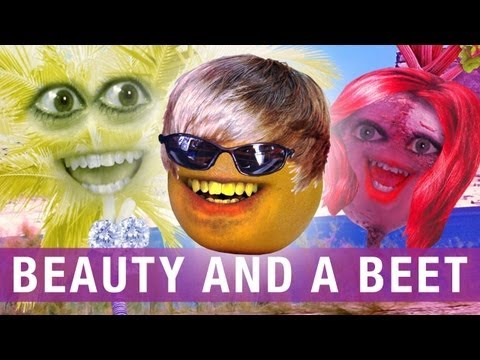Annoying Orange - Beauty and a Beet (Beauty and a Beat Justin Bieber Parody)