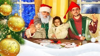 Santa Claus Is Coming To Town Santa Residence Merry Christmas for kids Funny video for Baby