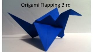 Origami Flapping Bird/ Crane