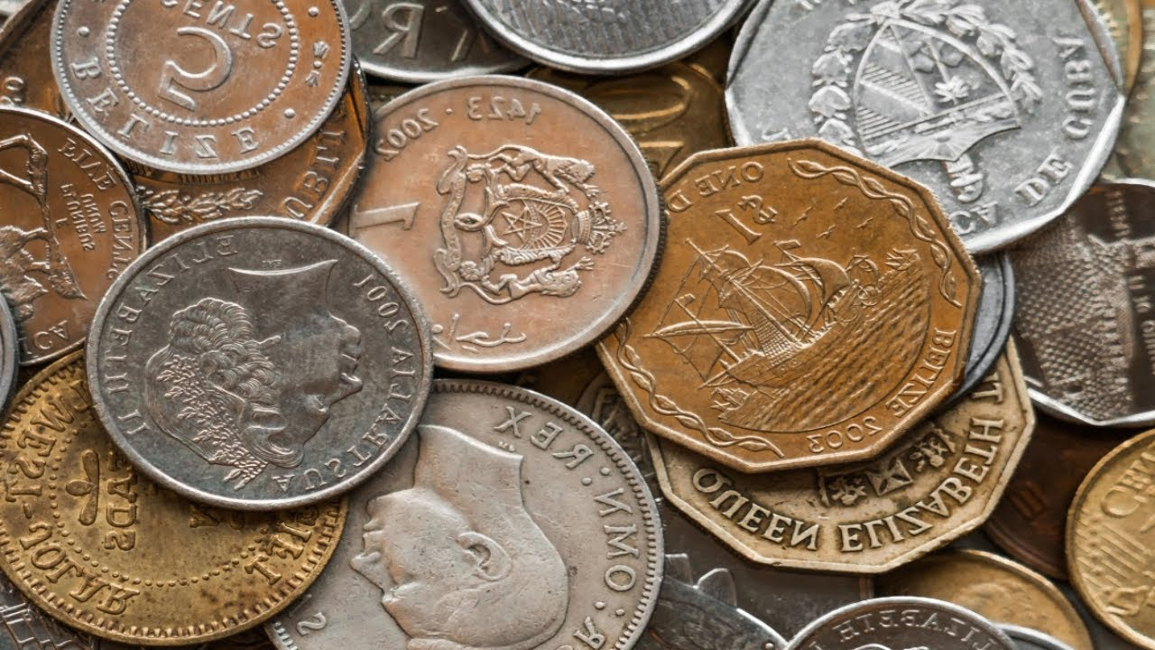 Searching 5 Pound Foreign Coin Lots For Silver Amp Rare