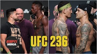 Best of UFC 236 ceremonial weigh-ins | UFC 236 | ESPN MMA