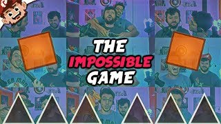 The IMPOSSIBLE GAME Returns!   Chilled & Ze Battle/Troll Each Other!  (The Impossible Game)