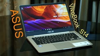 Asus VivoBook S14 review (in Hindi) Core i5 8th Gen light weight (non-Gaming) laptop