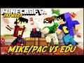 Minecraft: PAC/MIKE VS EDU (SKYWARS)