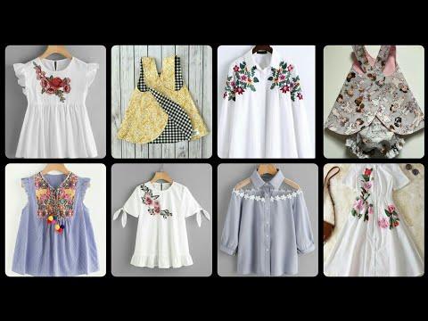 Shirt baby dress design one idea different design latest design beautiful frock