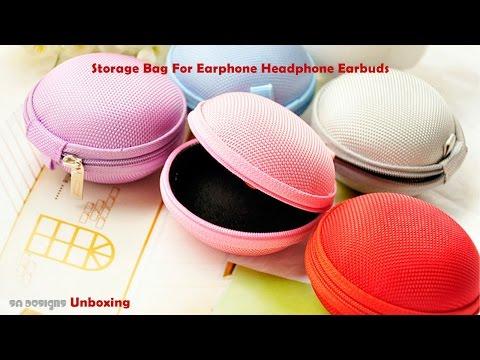 Storage Bag For Earphone Headphone Earbuds