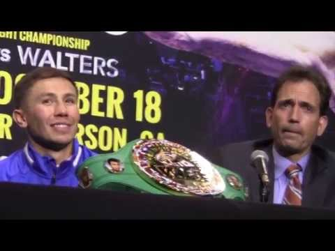 GGG Gennady Golovkin vs Marco Rubio POST FIGHT PRESS CONFERENCE