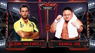Glenn Maxwell VS Samoa Joe - Backstage Brawl