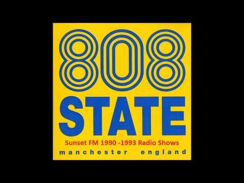 #7 808 State Radio Show @ Sunset FM, Manchester, UK, 1990 07 31