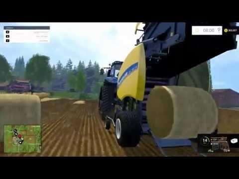 Farming Simulator 2015 - Bale Handling Gameplay