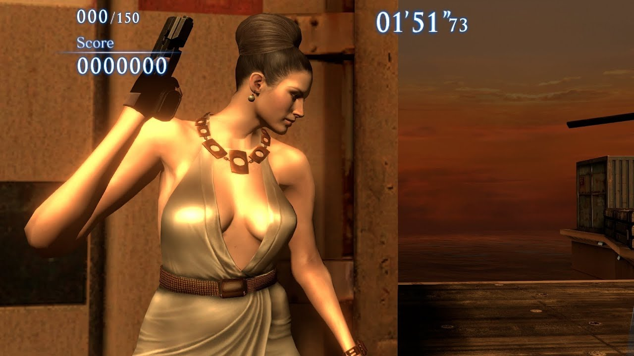 Resident evil 5 excella gionne nude sexy photos