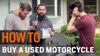 How To Buy A Used Motorcycle at RevZilla.com