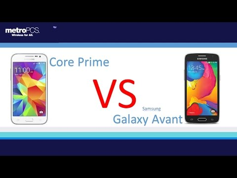Samsung galaxy core prime VS Samsung Galaxy Avant ( for metro PCS )