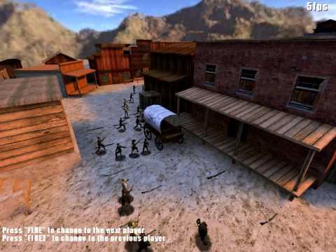 Smokin' Guns v1.1 preview - 50 bots in BR ElPaso